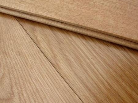 Solid oak flooring beauty